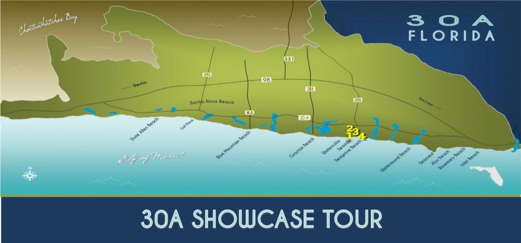 Slices Of 30A: Your 30A & South Walton Real Estate Blog - Local News - 30A Florida Map