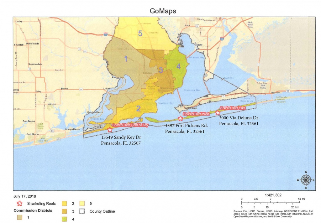 Snorkeling Reefs - Florida Keys Snorkeling Map
