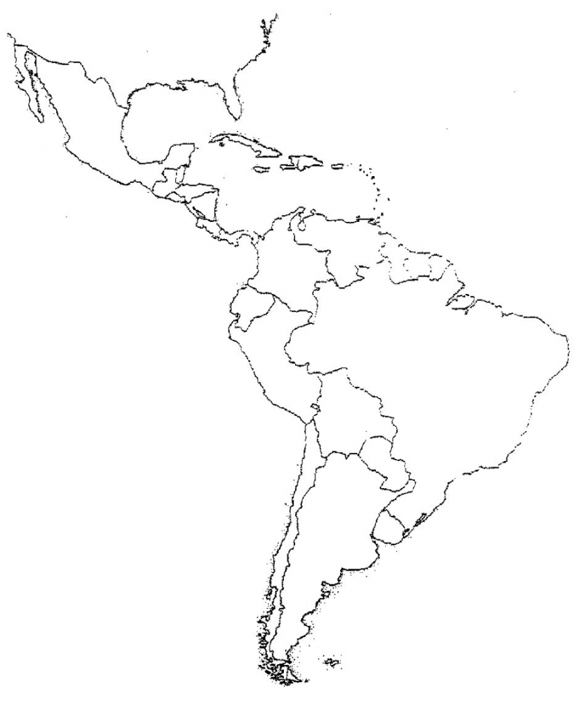 South And Central America Map Quiz Free Printable Maps Within 8 - Free Printable Map Of South America