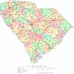 South Carolina Printable Map   Printable Map Of South Carolina