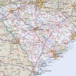 South Carolina Road Map   Printable Map Of South Carolina