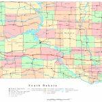 South Dakota Printable Map   Printable Map Of North Dakota