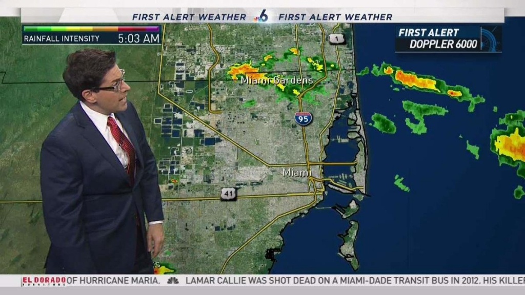 South Florida Weather Forecast - 6:45 Am - October 2, 2017 - South Florida Weather Map