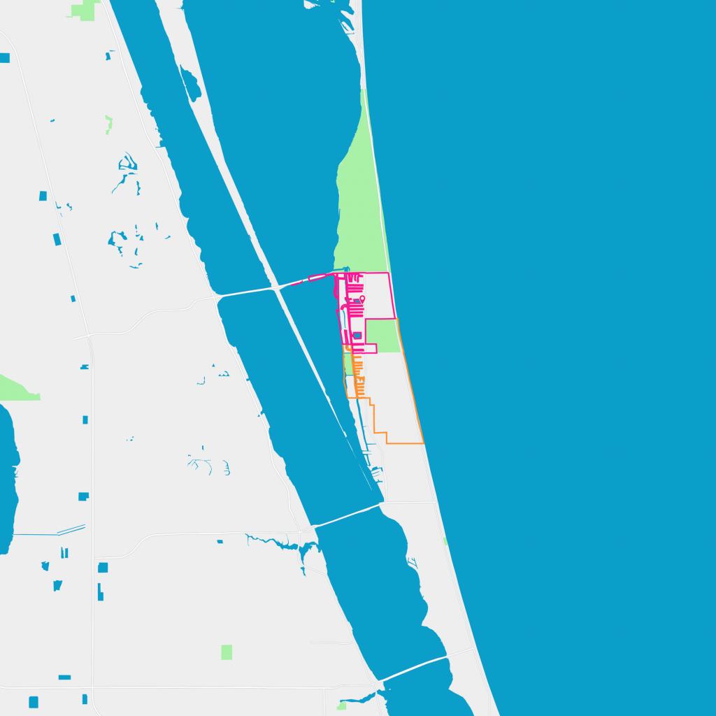 South Patrick Shores Neighborhood Guide - Satellite Beach, Fl   Trulia - Satellite Beach Florida Map