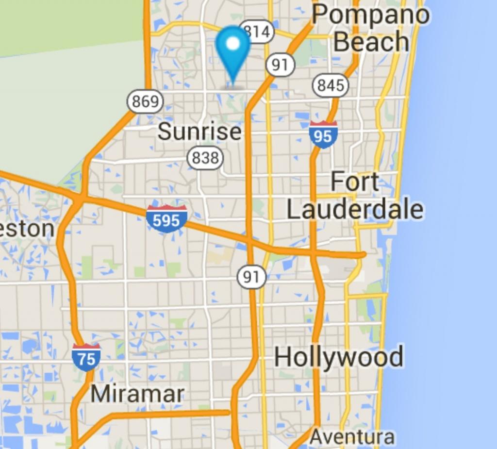 Southeast Florida New Construction: **new Construction** Chelsea - Tamarac Florida Map
