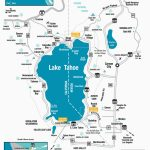 Southern California Breweries Map Lake Tahoe Maps And Reno Maps   Map Of Lake Tahoe Area California