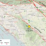 Southern California Earthquake Map – Temblor   Southern California Earthquake Map