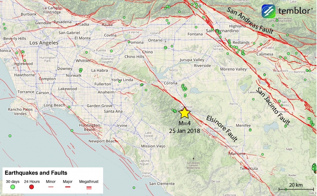 Southern-California-Earthquake-Map – Temblor - Southern California Earthquake Map