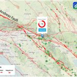 Southern California Fault Map San Andreas Fault – Temblor   Map Of The San Andreas Fault In Southern California