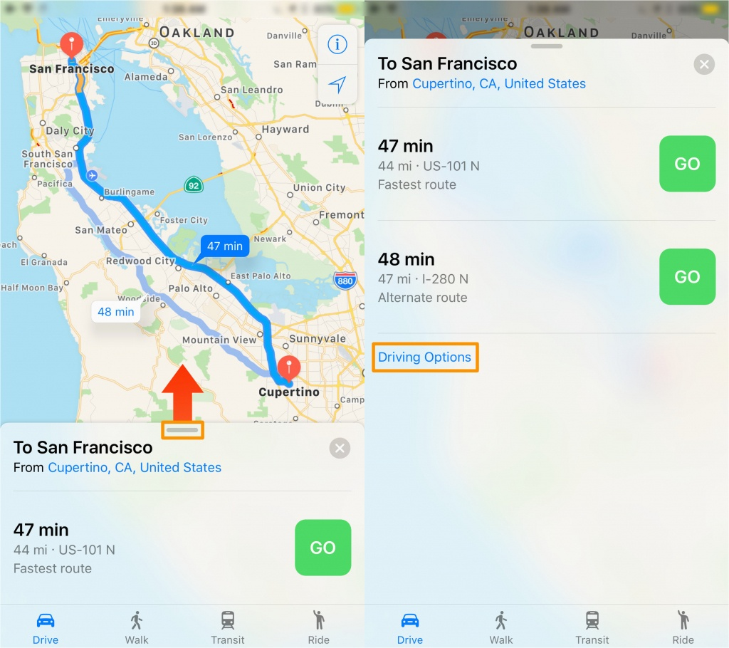 Southern California Toll Roads Map Map Of Highway 101 In California - Southern California Toll Roads Map
