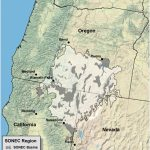 Southern Oregon Northeastern California Maps | Intermountain West   Oregon California Map