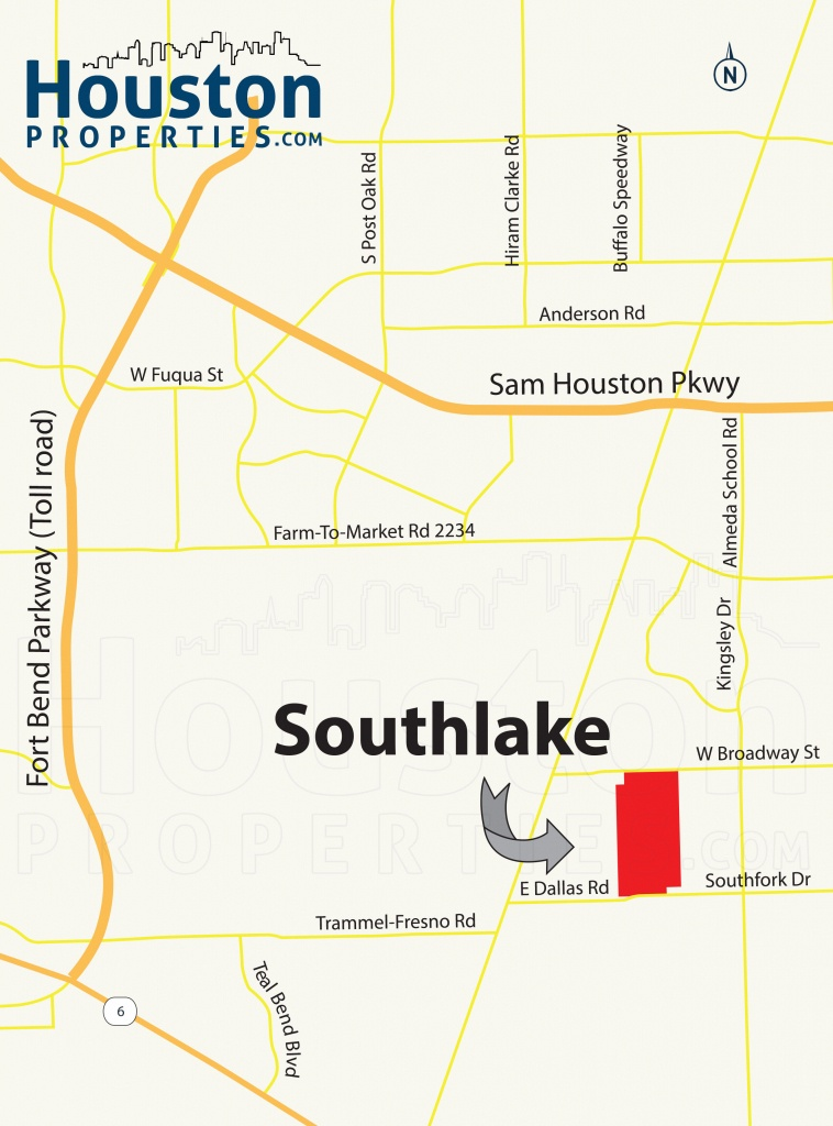 Southlake Pearland Tx Guide | Southlake Homes For Sale - Southlake Texas Map
