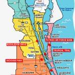 Space Coast Florida Map | Fysiotherapieamstelstreek   Cocoa Beach Florida Map