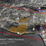 Space Images | Nasa's Aria Maps California Fire Damage   Southern California Campgrounds Map