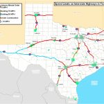 Speed Limits On Interstate Highways In Texas [4200X3519] : Mapporn   Texas Interstate Map