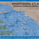 Sportfishing Atlas Southern California Edition   Baja Directions   Southern California Fishing Spots Map