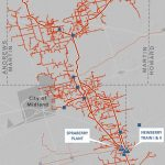 Spraberry/newberry Processing Complex | Navitas Midstream   Oneok Pipeline Map Texas