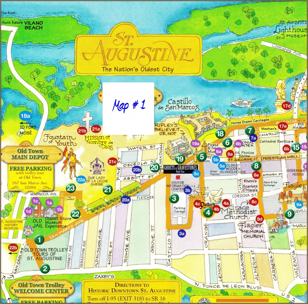 St Augustine Florida Map - Squarectomy - St Augustine Florida Map