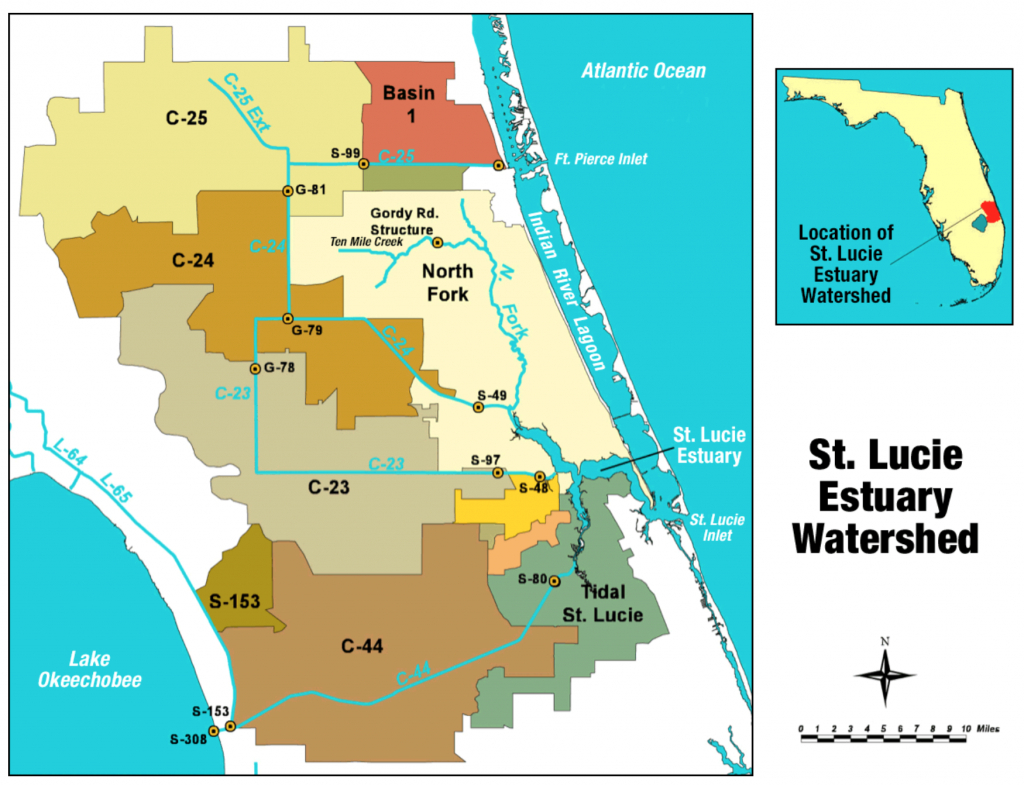 St. Lucie River - Wikipedia - Flood Zone Map Port St Lucie Florida
