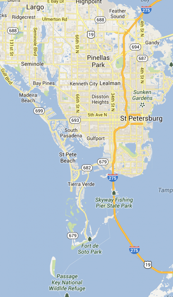 St. Pete Beach And Pass-A-Grille Florida | St Petersburg Clearwater - Map Of St Petersburg Florida Area