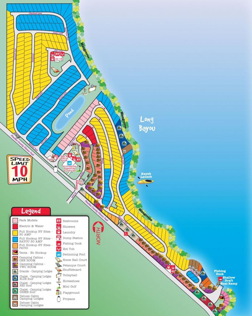 St. Petersburg / Madeira Beach Koa Campsites Start At $51.50 Per - Florida Rv Camping Map