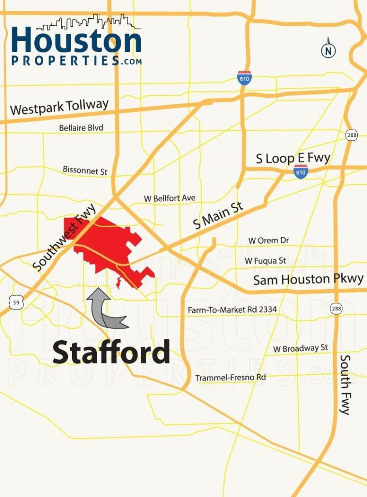 Stafford Tx Map   Great Maps Of Houston   Stafford Tx, Houston - Stafford Texas Map
