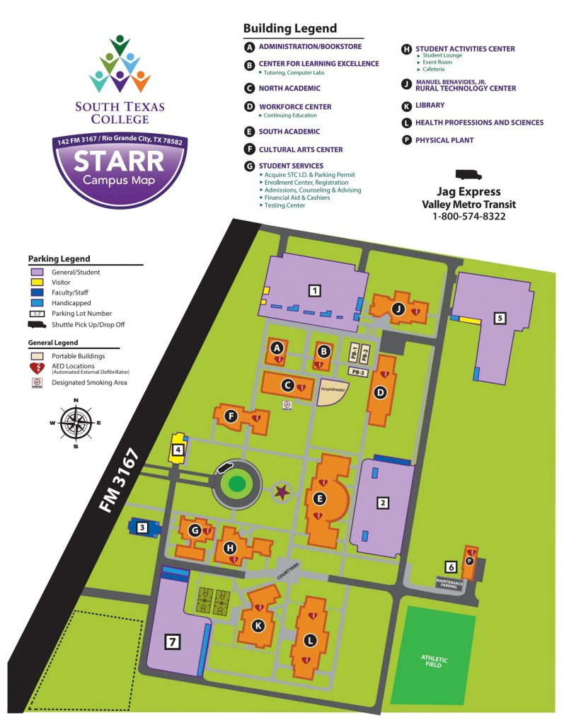 Starr County Campus - Rio Grande City | South Texas College - South Texas College Mid Valley Campus Map