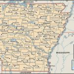 State And County Maps Of Arkansas   Arkansas Road Map Printable