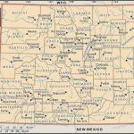 State And County Maps Of Colorado   Printable Road Map Of Colorado
