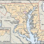 State And County Maps Of Maryland   Printable Map Of Annapolis Md