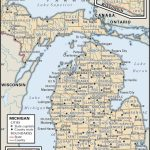 State And County Maps Of Michigan   Michigan County Maps Printable