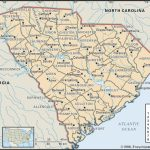 State And County Maps Of South Carolina   Printable Map Of South Carolina