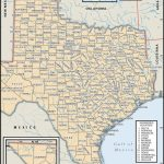 State And County Maps Of Texas   Map Of South Texas Coast