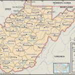 State And County Maps Of West Virginia   Printable Map Of West Virginia