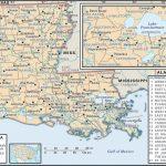 State And Parish Maps Of Louisiana   Louisiana State Map Printable