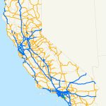 State Highways In California   Wikipedia   Route 1 California Map
