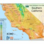 State Maps Of Usda Plant Hardiness Zones   Usda Map California