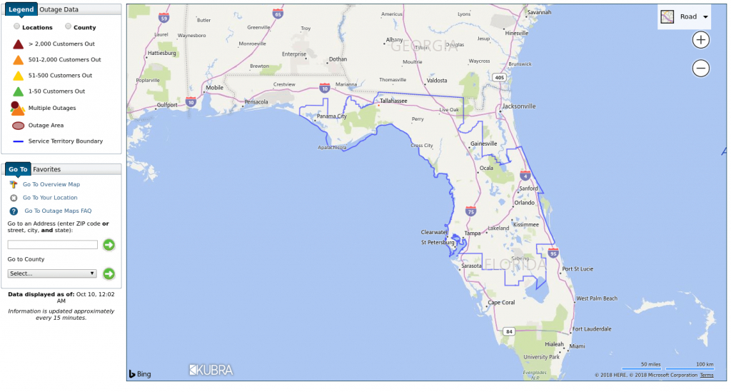 Storm Center Outage Maps Receive 3.1 Million Views For Record - Duke Energy Florida Coverage Map