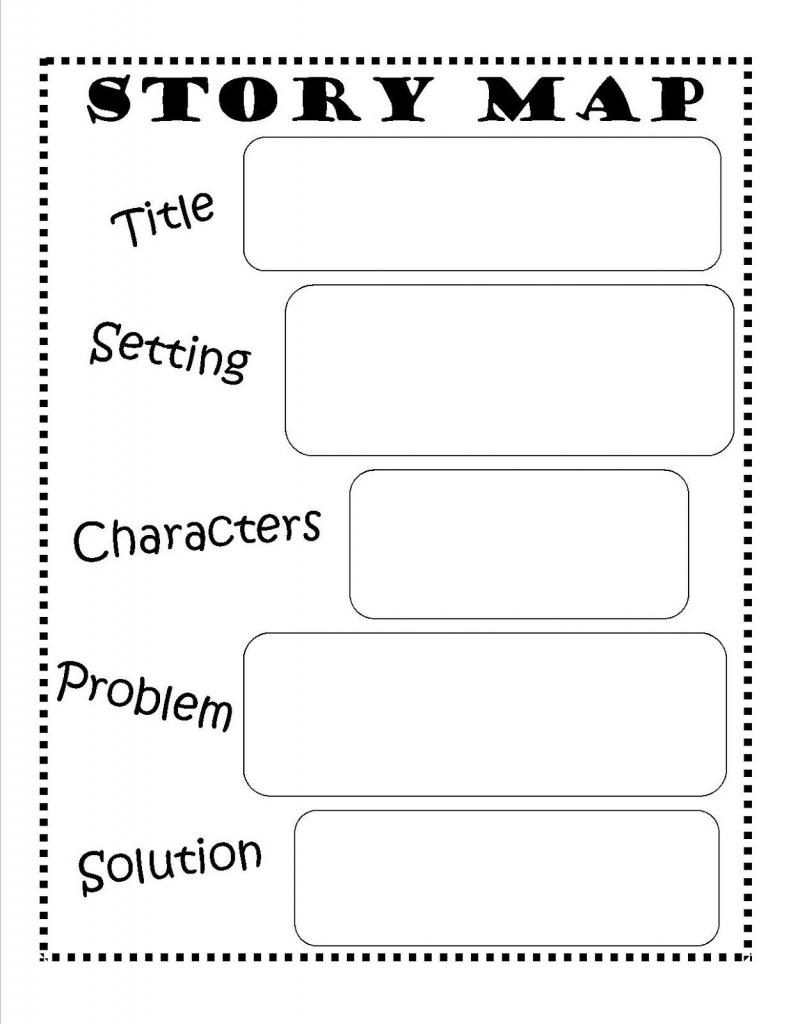 Story Map - Free Printable #reading #writing #kids | Ela | Story Map - Printable Story Map