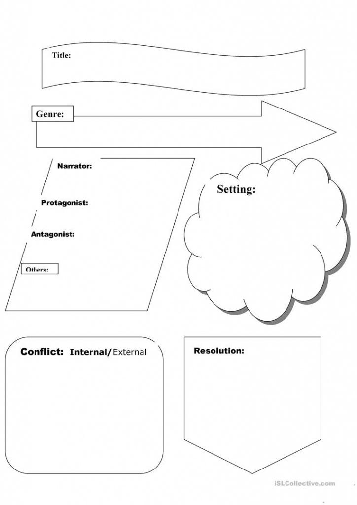 Story Map Worksheet - Free Esl Printable Worksheets Madeteachers - Printable Story Map