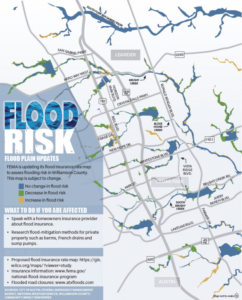 Story To Follow In 2019: Flood Insurance Rate Map Updates To Affect - Cedar Park Texas Map