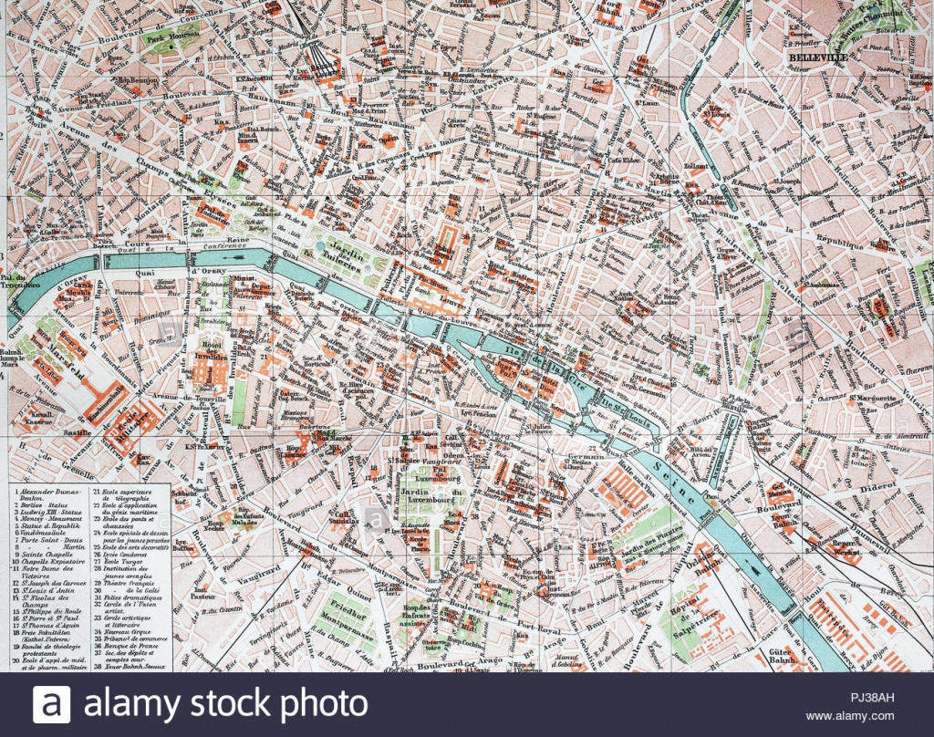 Street Map Stock Photos & Street Map Stock Images - Alamy - Printable Street Map Of Harrogate Town Centre