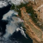 Stunning Satellite Images Of The California Wildfires   Via Satellite     California Wildfire Satellite Map