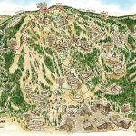 Summer Activities/top Things To Do In Big Bear Lake, Ca   Big Bear Mountain Map California