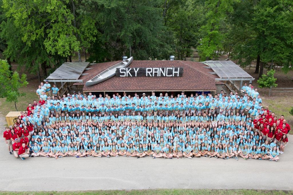 Summer Camp Team | Sky Ranch Christian Camps - Sky Ranch Texas Map