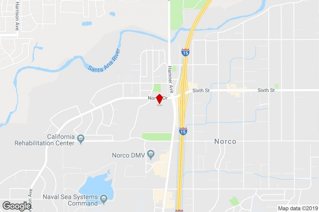 Swc 6Th St & Hamner Ave @ Hamner, Norco, Ca, 92860 - Commercial - Norco California Map