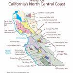 Swe Map 2019: California—Northern Central Coast – Wine, Wit, And Wisdom   Map Of Northern California Coast