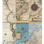 Sweet Ldr Surprises…   Printables   Printables, Vintage Maps, Map Crafts   Free Printable Travel Maps