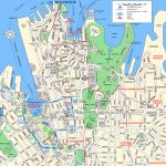 Sydney Attractions Map Pdf   Free Printable Tourist Map Sydney   Sydney City Map Printable