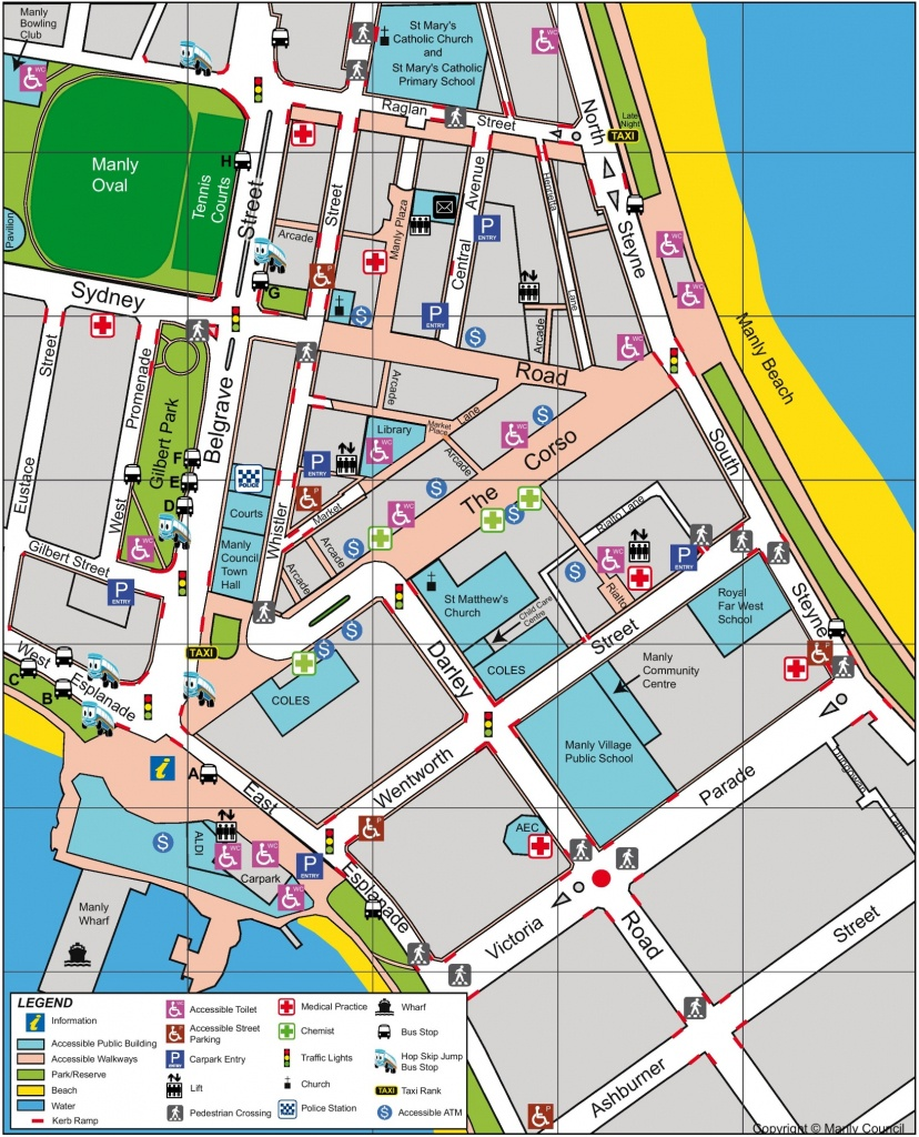 Sydney Cbd Map - Sydney City Map Printable